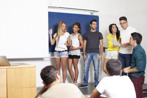 English presentation topics in school prepare you for presenting in the world of work.