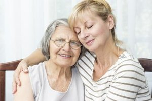 Placing a parent in a nursing home is a difficult decision.