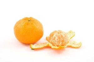 Información nutricional de la mandarina
