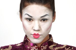 How to Make Asian Eyes for Costumes