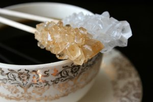 How to Make Sugar Crystals Fast