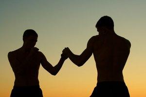 Entrenamiento de boxeo de sombra