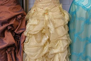 How to Clean a Formal Gown