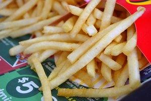 Los alimentos fritos y el dolor de estómago