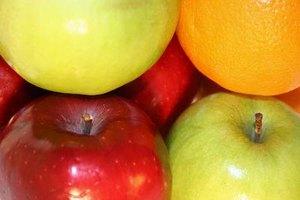 ¿Qué es más nutritiva, la naranja o la manzana?