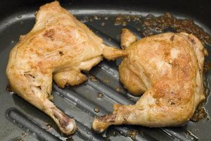 ¿Es el pollo alto en colesterol?