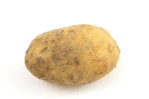 Almidón y glucosa en las patatas