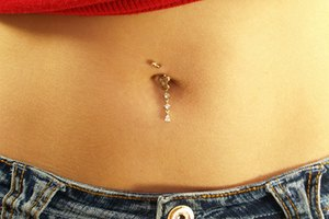 My Belly Button Ring is Stuck