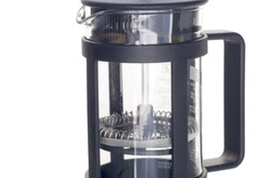 Parts of a French Press