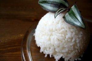 Los azúcares en el arroz blanco