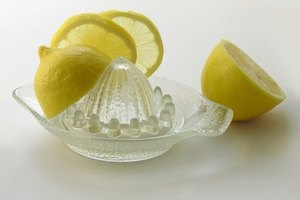 How to Use Lemon Juice in Place of an Acid Blend