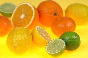 Lista de alimentos cítricos