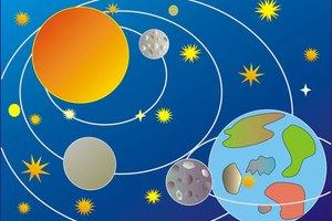 Como Fazer Um Móbile Do Sistema Solar