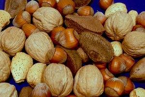 Tamaño de la porción de frutos secos y semillas