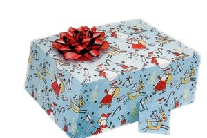 How to Donate Christmas Gift Wrap Paper