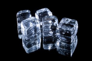 How Do I Make Ice Cubes From Poured Boiled Sugar?