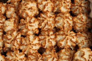 How to Freeze Coconut Macaroons