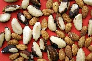 Índice glucémico de los frutos secos