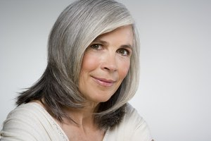 How to Improve the Texture of Wiry Grey Hair