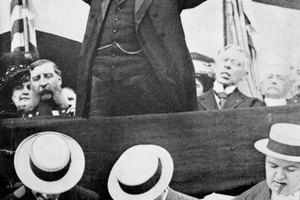 What Caused the Split With the Republican Party Over the William Taft Nomination?