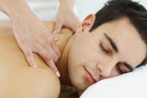 How Does a Massage Therapist Guide a Client in Disrobing?