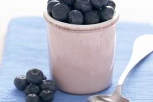 Firm and juicy fresh blueberries make for a wonderful filling.