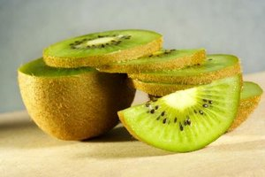 Kiwis can be stored in the refrigerator for up to a week.