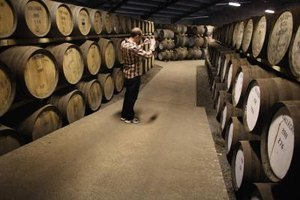 Scotch whisky develops much of its flavor during the cask aging process.