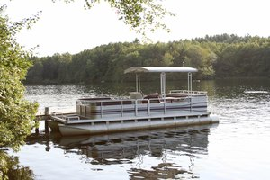 Camping on a Pontoon Boat
