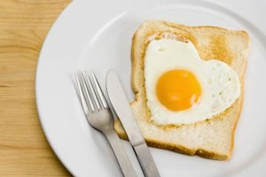 Low heat keeps the egg white from burning or discoloring.