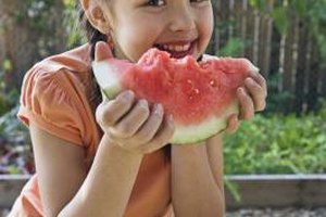 Fruits, vegetables, grains and more keep kids healthy.