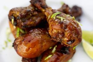 Honey-glazed drumsticks are easy to customize to your liking.