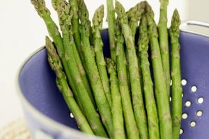 Fermented vegetables like asparagus taste sour but are sweet with health benefits.