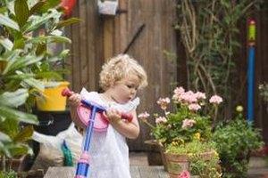 Lightweight linen and cotton blends work like a dream for toddler dresses.