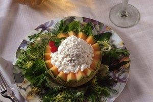 Dieta de queso fresco y fruta