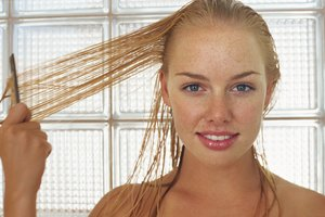 How to Straighten Your Hair When It's Wet