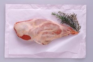 Leg of lamb contains enough fat and connective tissues for successful slow cooking.