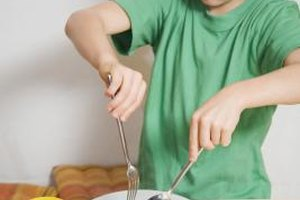 Kids can help cook and serve pasta meals.