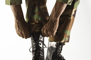 How To Blouse Military Pants