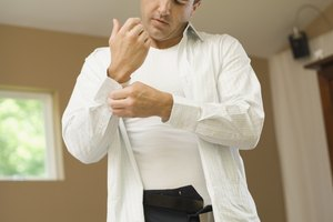 How to Remove Deodorant Stains and Underarm Body Odors From Dress Shirts