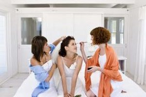 Modern wedding etiquette allows two maids of honor.