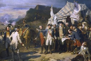 What Cities Did the British Occupy During the Revolutionary War?