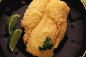 Cornmeal is only one option for coating tilapia.