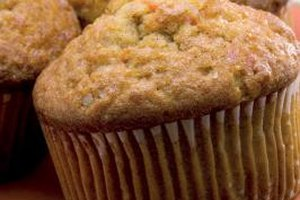 Fresh muffins are an easy dish to prepare for a breakfast potluck.