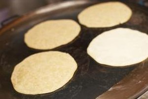 A little effort goes a long way when it comes to fresh flour tortillas hot off the griddle.
