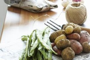 Blanch and preserve potatoes to make winter a bit easier.