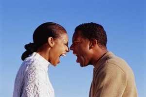 Failing to get past an argument can increase distance between spouses.