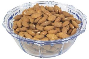 Roast almonds for a delicious and healthy snack.