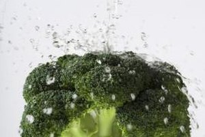 Broccoli provides generous amounts of vitamins, minerals and fiber.