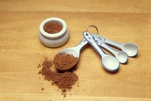 Cocoa powder makes tasty drinks, too.